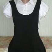 Новая женская блузочка 2 в 1 р.14!!!
