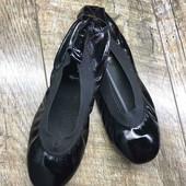 Женские кожаные балетки Chanel, производство Париж, размер 39-24.5 см.
