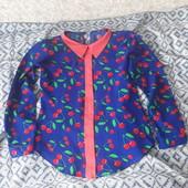 Блузки для девочки удобные, яркие, практичные.