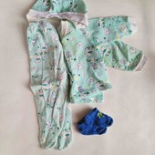 б/у костюми 3-ка + в подарок носочки