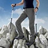 Трекинговые брюки Crivit с пропиткой Bionic Finish Eco evro 44+6