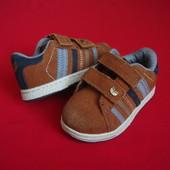Туфли кроссовки от Next натур замша размер 22-23