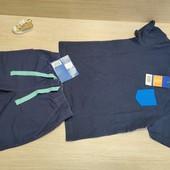 Германия!!! Симпатичный лот для мальчика! Коттоновая футболка 98/104 и Бермуды 98!