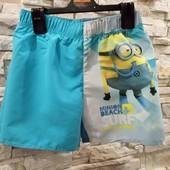 Пляжные шорты на 122-128 см