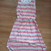 Платье шифон с подкладкой 13-15 лет.