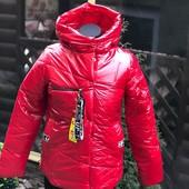 Деми курточки для девочек, 140-164