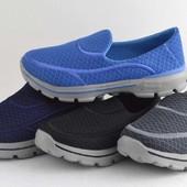 Лёгкие кроссовки без шнурков. Дышат.
