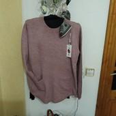 Ніжна якісна кофтинка-пуловер бузкового кольору