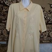 Шикарная брендовая рубашка батал✓Пог.66-72✓В идеале✓Много лотов,выбирайте✓