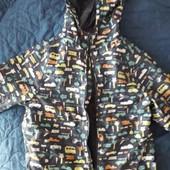 Куртка, ветровка от дождя. 86-82р. Идеал!