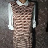 Фирменное платье-обманка