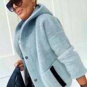 Продам куртку из альпаки 44-46 размер отличного качества