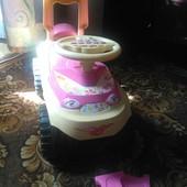 Машинка толокар для девочки