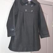 пальто драпове 116 + чобітки