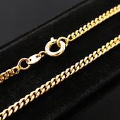 Новинка!!!Красивая цепочка алмазная грань 60 см *2 мм позолота 585 пробы УП -15 грн