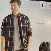 Мужская рубашка, из чистого хлопка livergy размер L