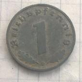 Германия 1 пфенинг 1941