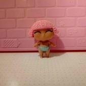 кукла лол мини сестричка оригинал! меняет цвет!