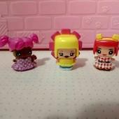 """мини куколки 3шт """"My mini mixieq's"""" оригинал! одежда и прически меняются."""