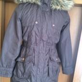 Куртка, деми, внутри шерпа, размер 11 лет 146 см. Next, в идеале