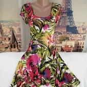 Яркое летнее платье, Wallis, размер S-М.