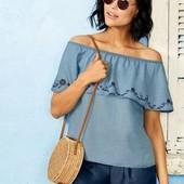блуза в от Esmara. 100% lyocell (Лиоцелл) читайте в описании преимущества этой ткани ! цвет фотощ