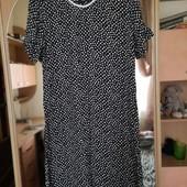 Лёгкое летнее платье. Размер приблизительно xl, xxl. Cm замеры.