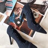 Стильные женские туфли.