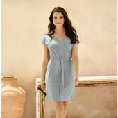 Элегантное платье esmara 7% лен размер евро 36-38