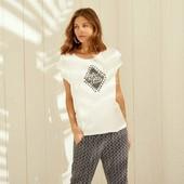 ❦ Красивая футболочка Esmara S 36/38eur,пог 52❦