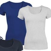 комплект: две женские стильные футболки от Esmara. Р-р нем. М.
