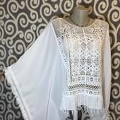 Летняя, невесомая туничка-пончо Today для модниц.