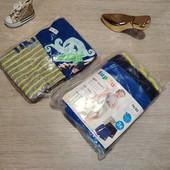 Германия!!! Суперовый лот для малыша из 3 коттоновых шортиков и 2 бодиков-маек! 74/80!