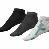 3 пары женских носочков Crivit®, размер 39-42.