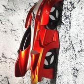 Радиоуправляемая игрушка climber wall Антигравитационная машинка, ездит по стенам и потолку!