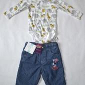 2 речі в лоті. Боді H&M 62+шорти з підкладкою Disney 62
