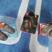 Три пары обуви р.30 кроссовки, туфли Skechers Braska