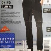 """Стильные модные мужские брюки """"slim fit"""" Livergy Германия размер 48"""