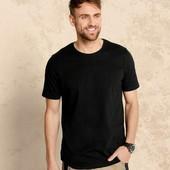 Livergy футболка чёрная р.М 48/50 100% хлопок