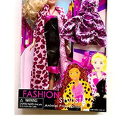 Дорогая красивая куколка с аксессуарами Fashion Stylist фирма Lovely Patsy серия Animal print!