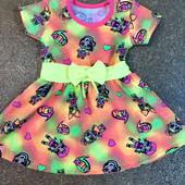 Супер платье на лето Лол Хлопок 100%