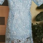 Детское нарядное кружевное платье в одном размере