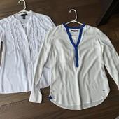 Две котоновые блузы-XS