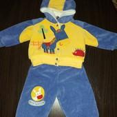 Теплый костюм на мальчика.68-80