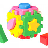 Розвиваючий куб Сортер Розумний малюк Технок