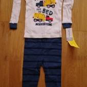Carters 24M пижама домашний костюм