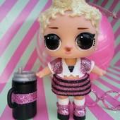 Bling серия куколка в комплекте одежды и аксами + шар оригинал MGA LoL лол