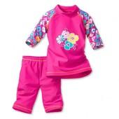 Купальник - костюм для плаванья солнцезащитный , для девочки. Рост 98 -104
