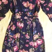 Красивое платье в цветах Joules