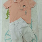Комплектик з шортиків і футболочки